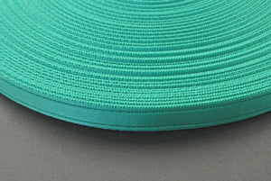 25mm Cushion Webbing In Various Lengths In Emerald Green