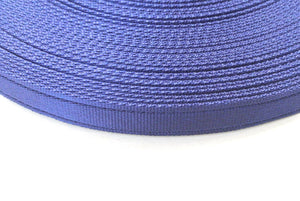 25mm Cushion Webbing In Various Lengths In Navy