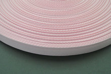 Load image into Gallery viewer, 25mm Cushion Webbing In Various Lengths In Baby Pink