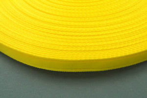 25mm Cushion Webbing In Various Lengths In Yellow