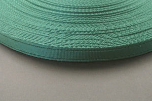 25mm Cushion Webbing In Various Lengths In Forest Green