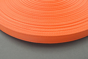 25mm Cushion Webbing In Various Lengths In Orange