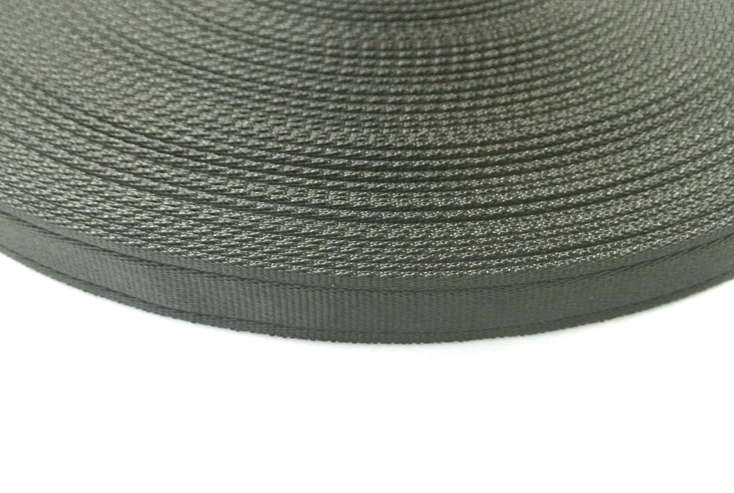 25mm Cushion Webbing In Various Lengths In Black