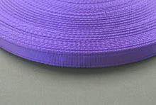 Load image into Gallery viewer, 25mm Cushion Webbing In Various Lengths In Purple