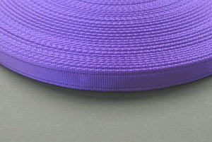 25mm Cushion Webbing In Various Lengths In Purple