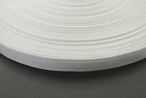 25mm Cushion Webbing In Various Lengths In White