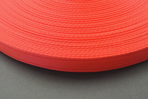 25mm Cushion Webbing In Various Lengths In Red
