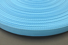 Load image into Gallery viewer, 25mm Cushion Webbing In Various Lengths In Sky Blue