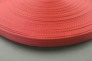 25mm Cushion Webbing In Various Lengths In Burgundy