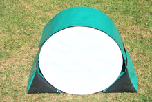 Load image into Gallery viewer, Dog agility tunnel sandbags in green and black
