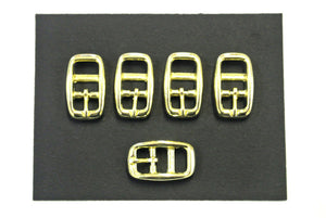 Caveson Buckles Brass Plated  In Widths Of 10mm 13mm 16mm 20mm 25mm Ideal For Dog Collars Webbing Straps Belts