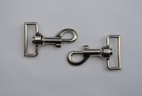 38mm Heavy Duty Swivel Trigger Clips/Hooks For Leads Webbing