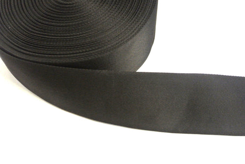 100mm Wide Webbing Strong In Black Various Lengths