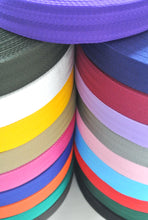 Load image into Gallery viewer, 38/40mm Wide Herringbone Webbing In Various Colours
