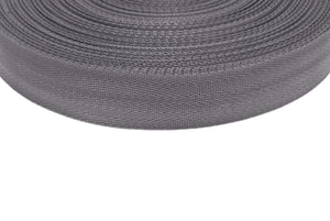 38/40mm Wide Herringbone Webbing In Black