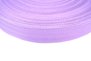 38/40mm Wide Herringbone Webbing In Lilac