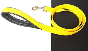 "45"" Short Close Control Dog Leads With Padded Handle In Various Colours"