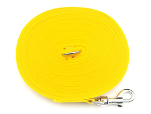 40ft Dog Training Lead In Yellow