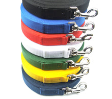 Load image into Gallery viewer, Dog training lead 15ft in various colours