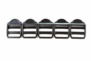 Plastic Ladder Lock Buckles 25mm For Webbing Straps Bags