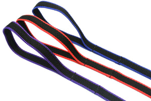 "45"" Dog lead in 3 two-toned colours"