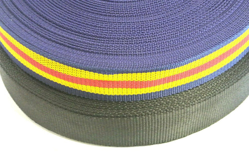 50mm Surcingle Webbing In 2 Colours And Various Lengths