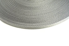 Load image into Gallery viewer, 16mm Wide Webbing In Silver/Grey