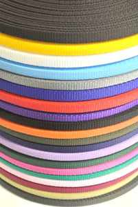 16mm Wide Webbing In Various Colours