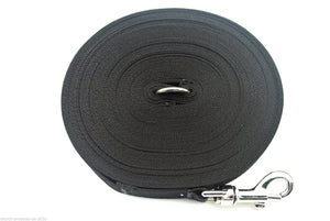 200ft Dog Training Lead In Black