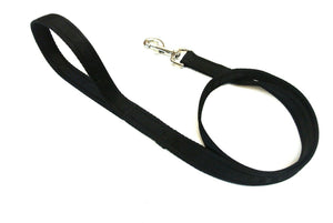 "45"" Short Dog Walking Lead In Black"