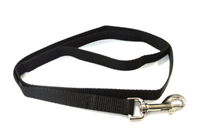 "45"" Short Dog Lead In Black"