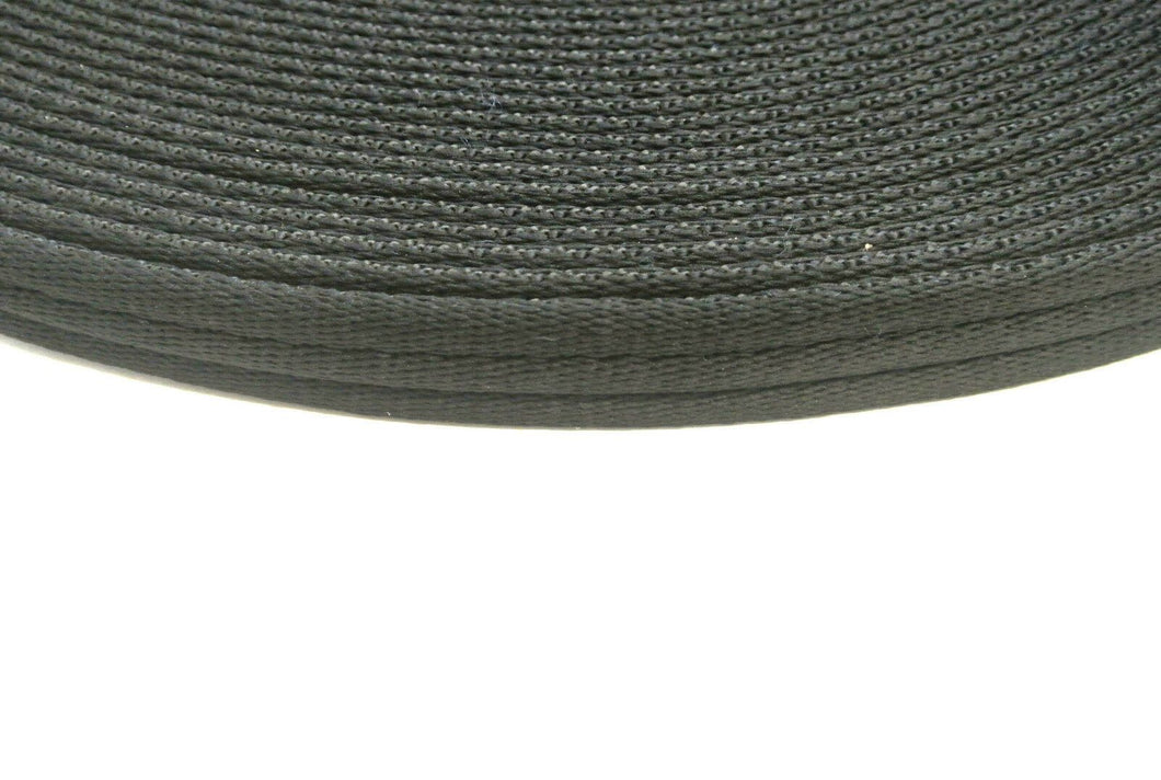 20mm Polyester Air Webbing In Black And Various Lengths