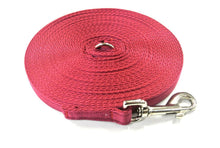 Load image into Gallery viewer, 5ft-50ft Dog Training Lead In Burgundy