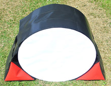 Load image into Gallery viewer, Dog Agility Tunnel Sandbags Adjustable In Black And Red