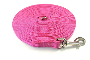 5ft-50ft Dog Training Lead In Cerise