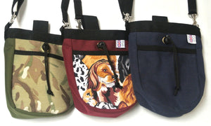 Multi-Use Pet/Dog Treat Bag Training Pouch In Various Styles