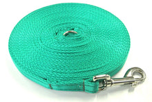 Load image into Gallery viewer, 5ft-50ft Dog Training Lead In Emerald Green