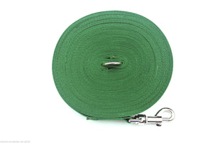150ft Dog Training Lead 25mm Webbing In Green