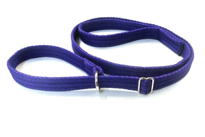 "60"" Dog Slip Lead In Purple"