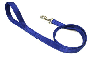 "45"" Short Dog Walking Lead In Royal Blue"