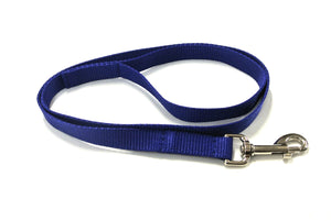 "45"" Short Dog Lead In Royal Blue"