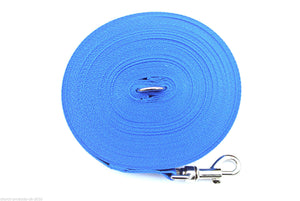 150ft Dog Training Lead 25mm Webbing In Royal Blue