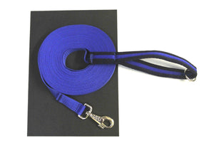 Royal Blue 50ft Dog Training Lead With Padded Handle