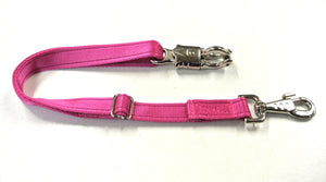 Adjustable Panic Hook Safety Strap For Horse Control In Cerise