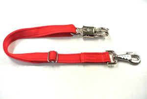 Adjustable Panic Hook Safety Strap For Horse Control In Red