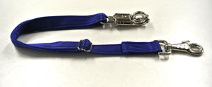 Adjustable Panic Hook Safety Strap For Horse Control In Royal Blue