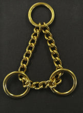 Load image into Gallery viewer, Solid Brass Half Check Chains For Dog Collars