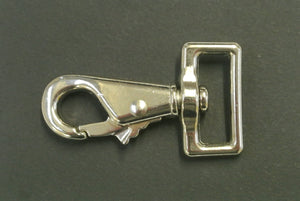 "1""/25mm Snap clip horse rug repair nickel plated"