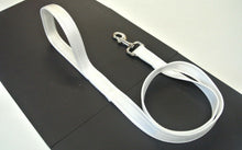 "Load image into Gallery viewer, 45"" Short Dog Walking Lead Leash 20mm 25mm Wide Cushion Webbing In 16 Colours"