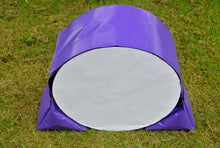 Load image into Gallery viewer, Dog agility tunnel sandbags in purple
